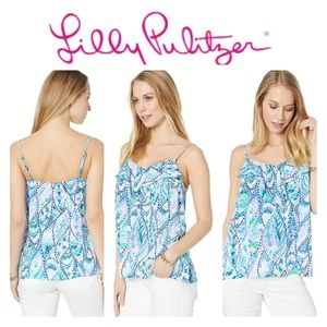 Lily Pulitzer Karmen Cami Tails Of The Sea
